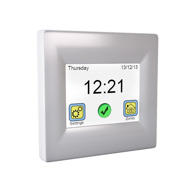 Thermostat tactile blanc - avec sonde de sol - programmable - TFT610 SUD RAYONNEMENT