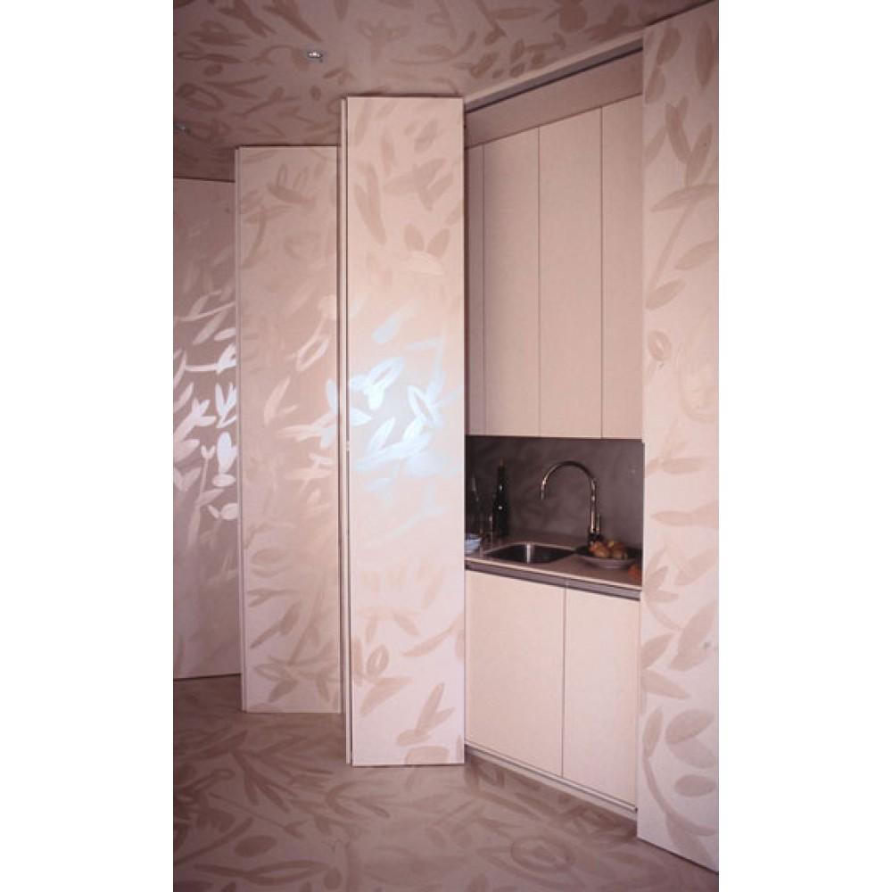 syst me porte coulissante pliante multifold 30 hawa bricozor. Black Bedroom Furniture Sets. Home Design Ideas