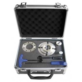 Coffret mandrin et accessoires pour tour à bois filetage M33 x 3.5mm LEMAN