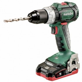 Perceuse-visseuse sans fil 18 V + 2 batteries LiHD - BS 18 LT BL METABO