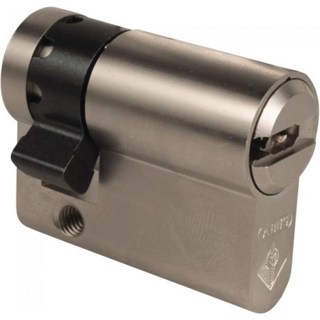 Cylindre de haute sûreté simple Bravus 2000 débrayable 4 clés ABUS