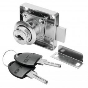 Kit de serrure de meuble monopoint 138 - clés plates GTV