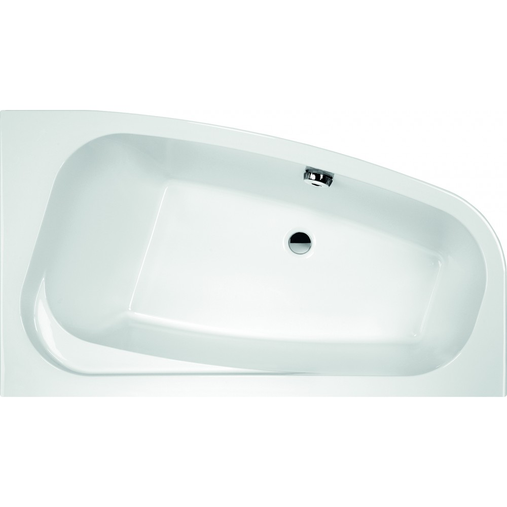 tablier pour baignoire asymtrique frisbee installation gauche leda - Pose Baignoire Acrylique Avec Tablier