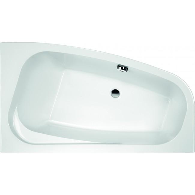 Tablier pour baignoire asymétrique Frisbee - installation droite LEDA
