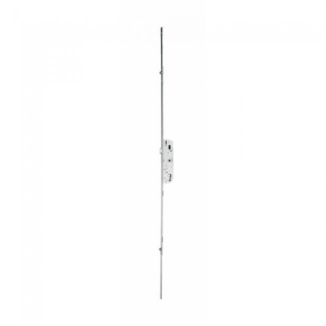 Serrure à larder 3 points - axe 35 mm - têtière à bouts ronds 16 mm FERCO