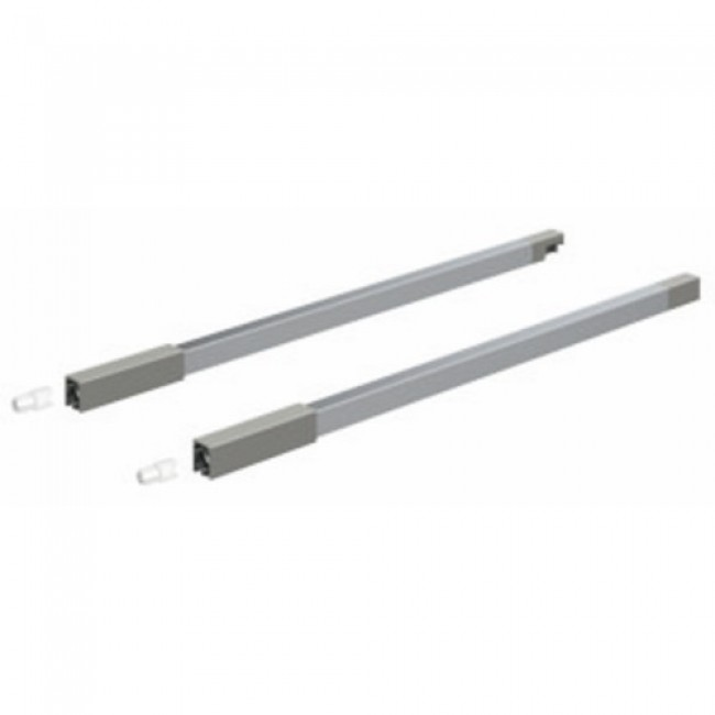 Double tringle pour tiroir InnoTech Atira-hauteur 176 mm-argent HETTICH