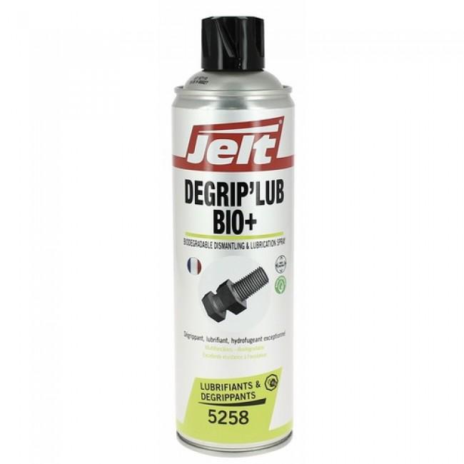 Dégrippant lubrifiant multifonctions biodégradable Dégrip'lub Bio+ JELT