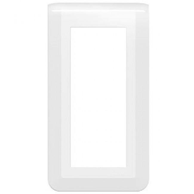 Plaque décorative verticale Mosaic blanche - 5 modules LEGRAND
