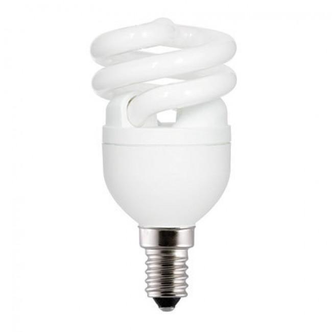 lampe fluocompacte spirale culot petite vis e14 ge lighting bricozor. Black Bedroom Furniture Sets. Home Design Ideas