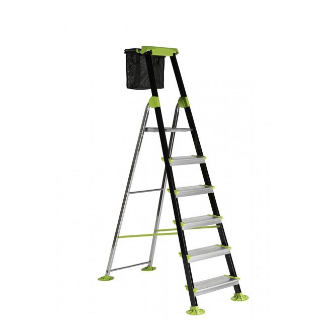 Escabeau aluminium - GARDEN STEP - Hauteur de travail 3,2 mètres CENTAURE