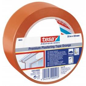 Ruban adhésif plastifié de protection orange - 4843 TESA Adhésifs