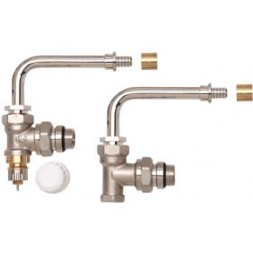 Kit hydrocâblé HC-RE RA-IN - Equerre - à glissement - coude orientable DANFOSS
