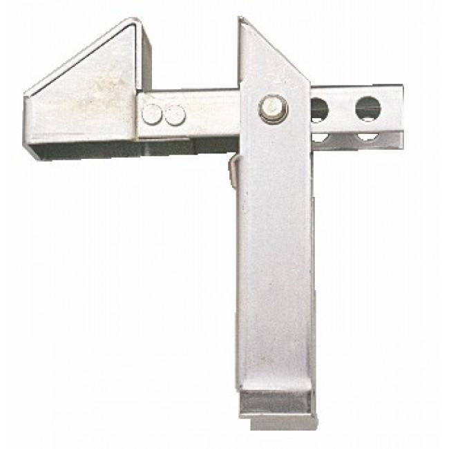 Butée de portail à bascule en acier zingué - à sceller BOURG INDUSTRIES