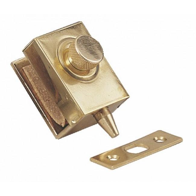 Loqueteau cavalier de miroiterie à bouton - 1445 STREMLER