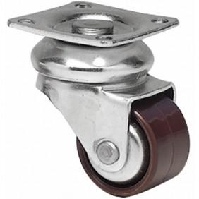 Roulettes de meuble mini-Forte-charge 45kg-diamètre 30 mm GUITEL