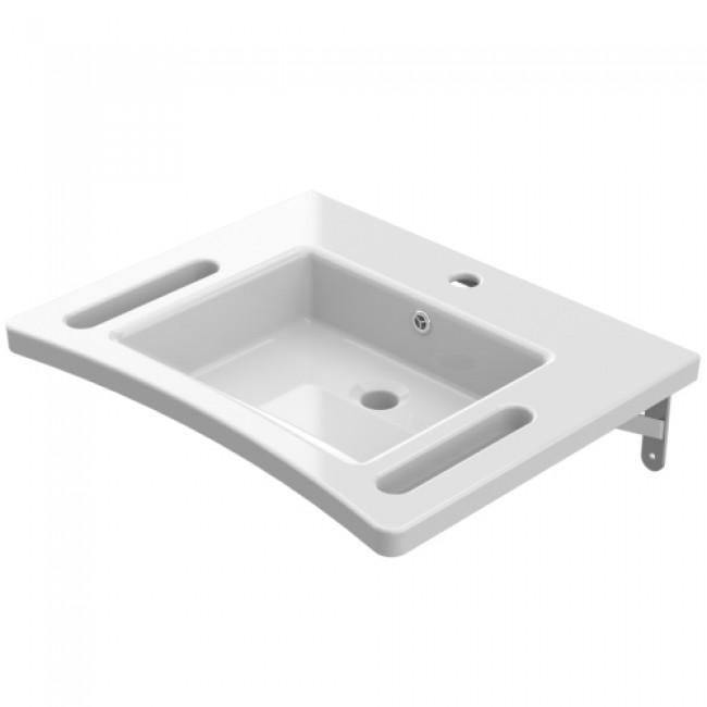 Vasque de synthèse - adapté PMR - Onyx - 60x48 cm AKW INTERNATIONAL
