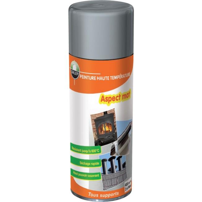 Bombe peinture - haute température – haut pouvoir couvrant – 400 ml DALEP