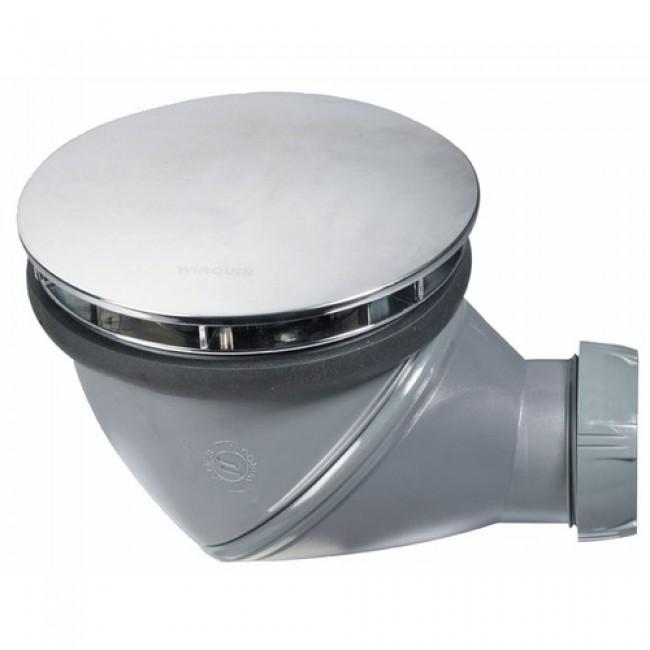 Bonde de douche - James -  à sortie orientable 360°/ diamètre 90mm WIRQUIN PRO