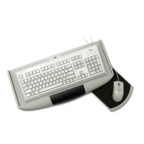 Support coulissant pour clavier et tapis de souris GTV