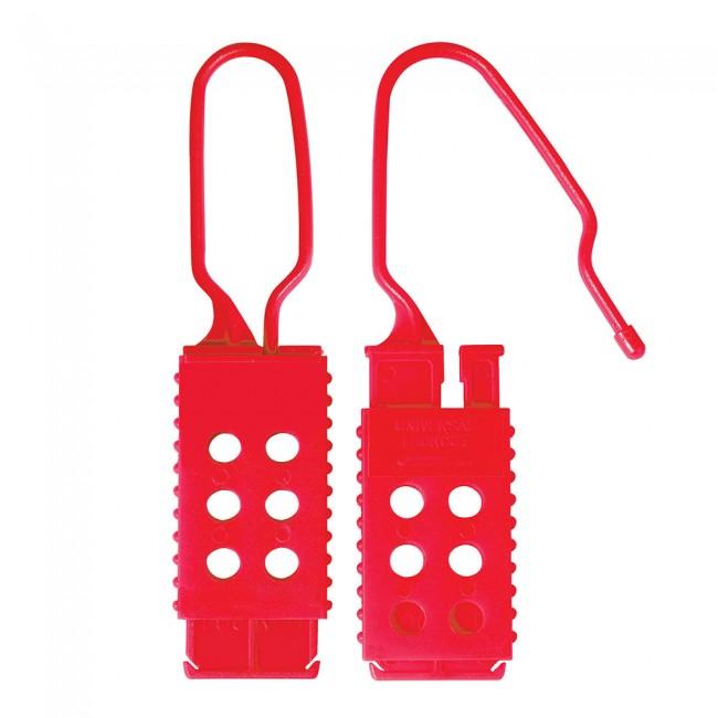 Crochet de consignation non-conducteur - jusqu'à 6 cadenas MASTER LOCK
