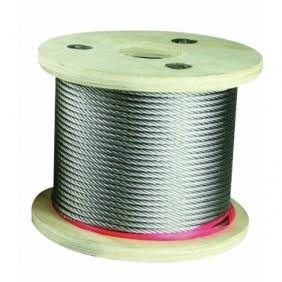 Câble souple - pour garde-corps - rampes - inox poli 316 - Easy Kit IGS