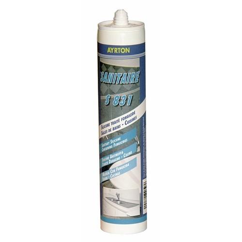 Mastic silicone acétique S 831 pour sanitaire