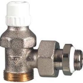 Coude de réglage pour radiateur - filetage mâle spécifique RBM RBM