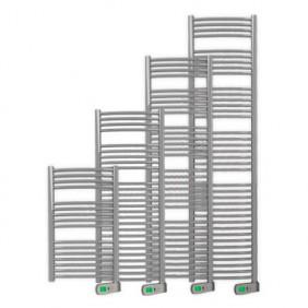 Sèche-serviettes électrique - tubes incurvés - Sygma métal ROINTE