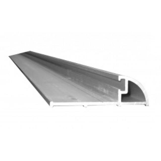 Seuil aluminium pour porte d'entrée + joint prémonté - 4 m BILCOCQ