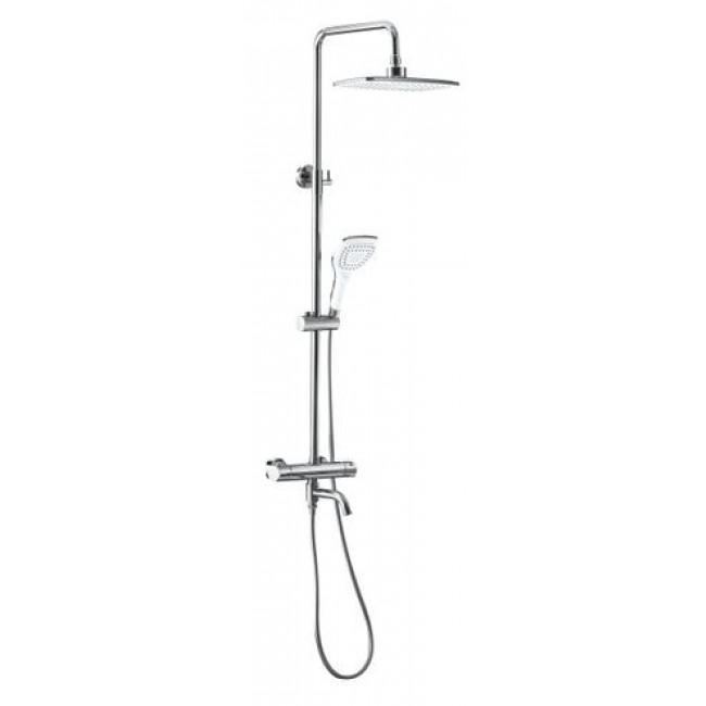 Colonne de baignoire thermostatique avec douche de tête PERLA SARODIS