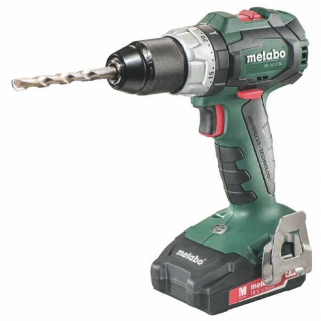 Perceuse-visseuse sans fil 18 V 2Ah-BS 18 LT BL METABO
