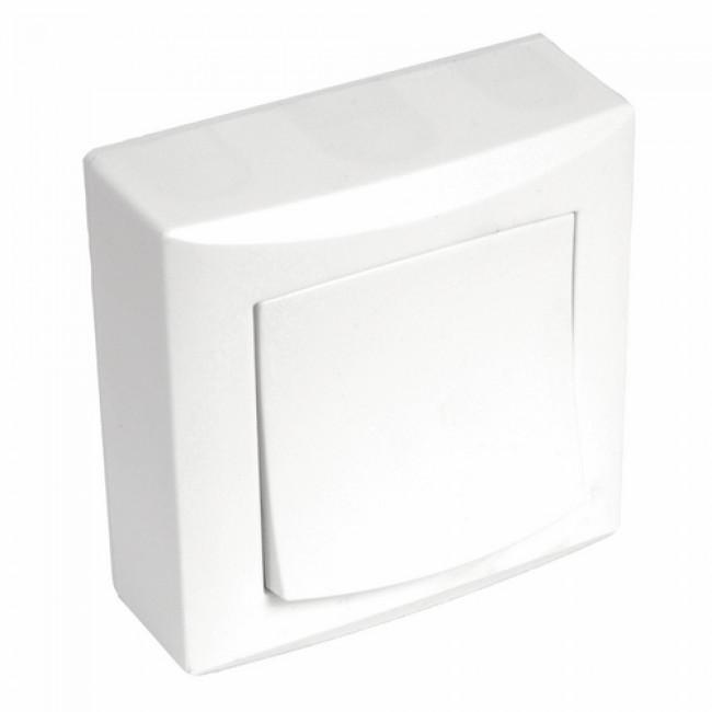 Commande d'éclairage - complète - saillie - Vision - blanc EUROHM