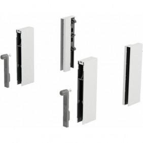 Adaptateurs DesignSide pour tiroir ArciTech-hauteur 124 mm HETTICH