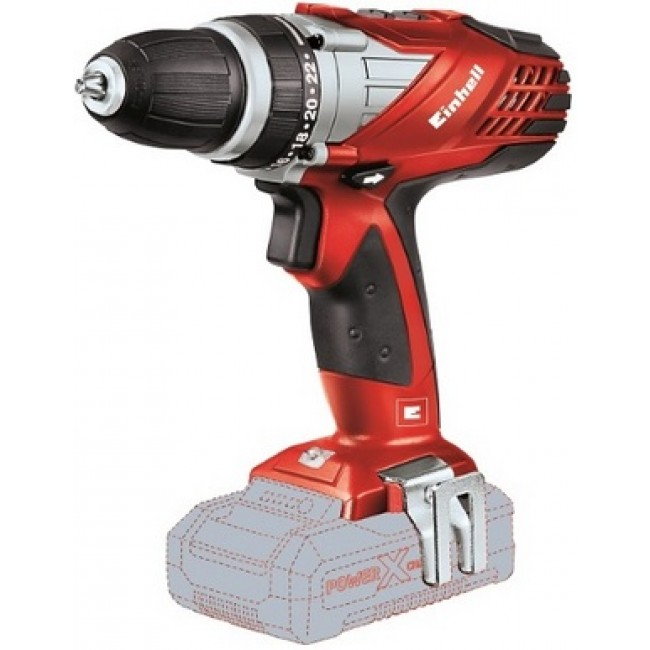 Perceuse visseuse sans fil - 18 volts - solo - TE-CD EINHELL