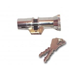 Cylindre double à bouton série 666 pour serrure à larder FICHET