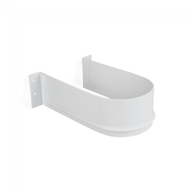 Lot de 10 courbes sous-évier pour tiroir de salle de bain-blanc EMUCA
