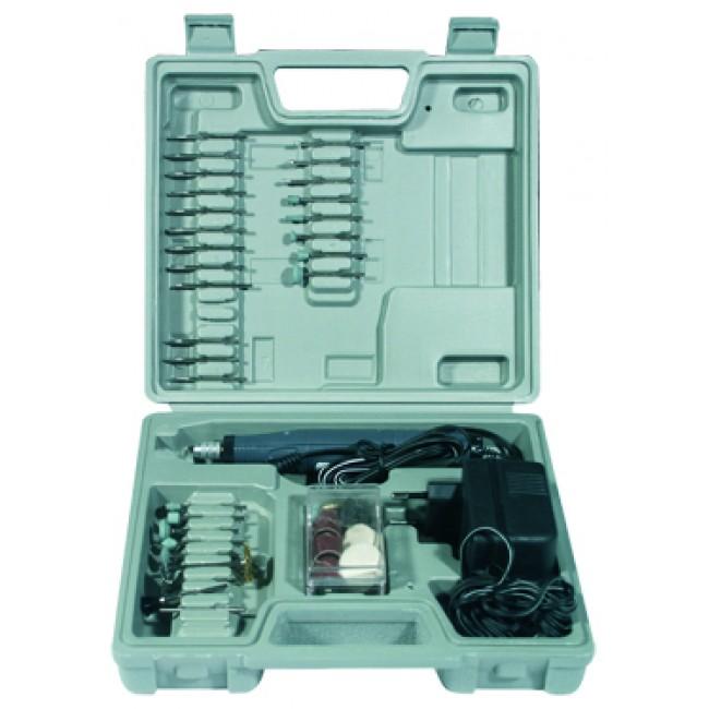 Coffret gravure sur verre et bois - graveur 24 V - 60 outils MAXICRAFT