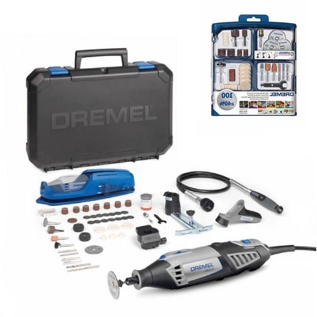 Dremel 4000 multifonction 175W + 215 accessoires - F0134000VE DREMEL