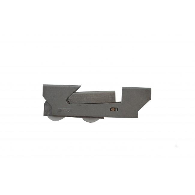Chariot double réglable pour coulissant aluminium - 3517 LA CROISÉE DS
