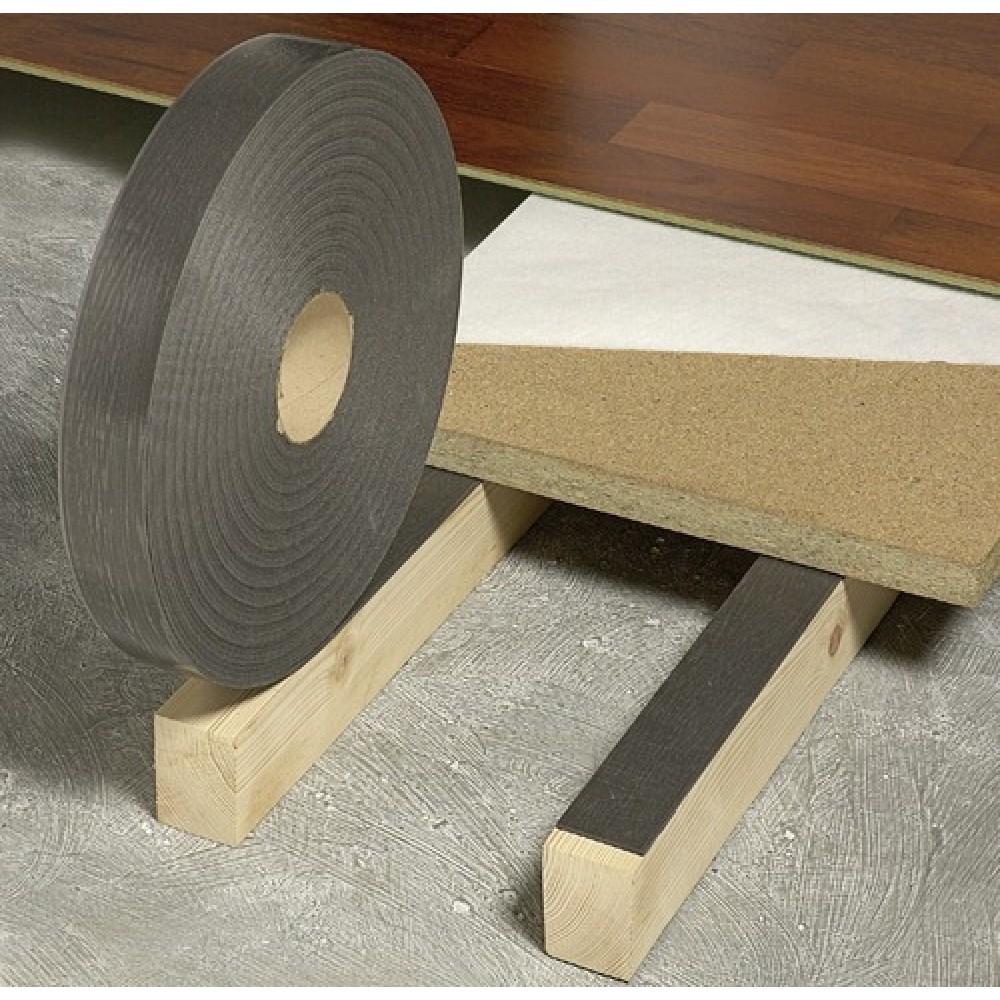 bande acoustique sous parquet tramiband tramico bricozor. Black Bedroom Furniture Sets. Home Design Ideas