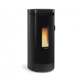 Poêle à granulés étanche - 9 kW - option canalisable - Noir - Debby LA NORDICA EXTRAFLAME