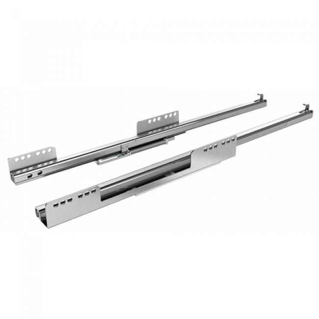 Coulisses à billes Quadro 25 pour tiroir InnoTech Atira-charge 25 kg HETTICH