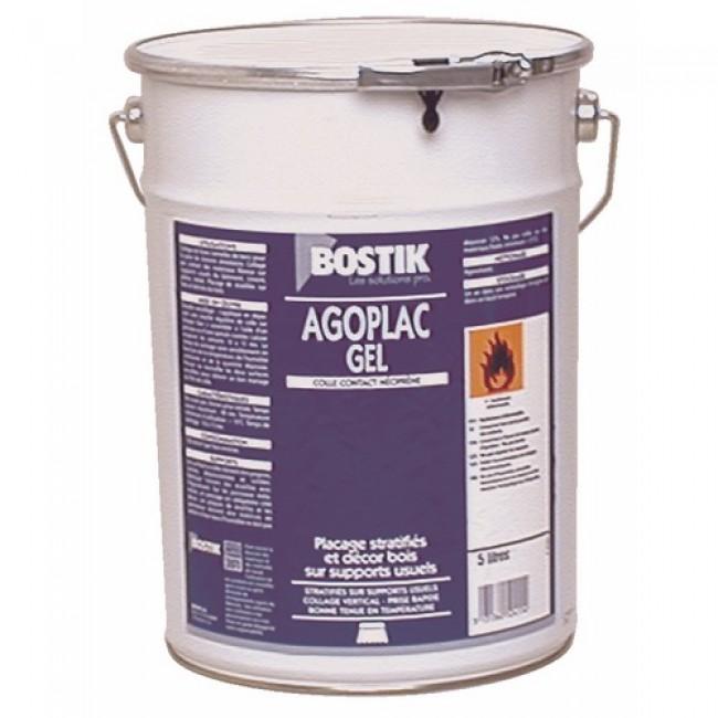Colle néoprène Agoplac gel - 5 litres BOSTIK