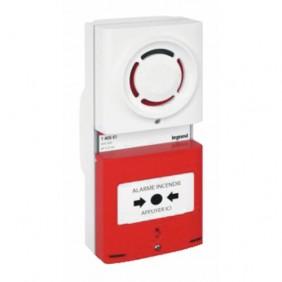 Tableau d'alarme incendie de type 4 à pile LEGRAND