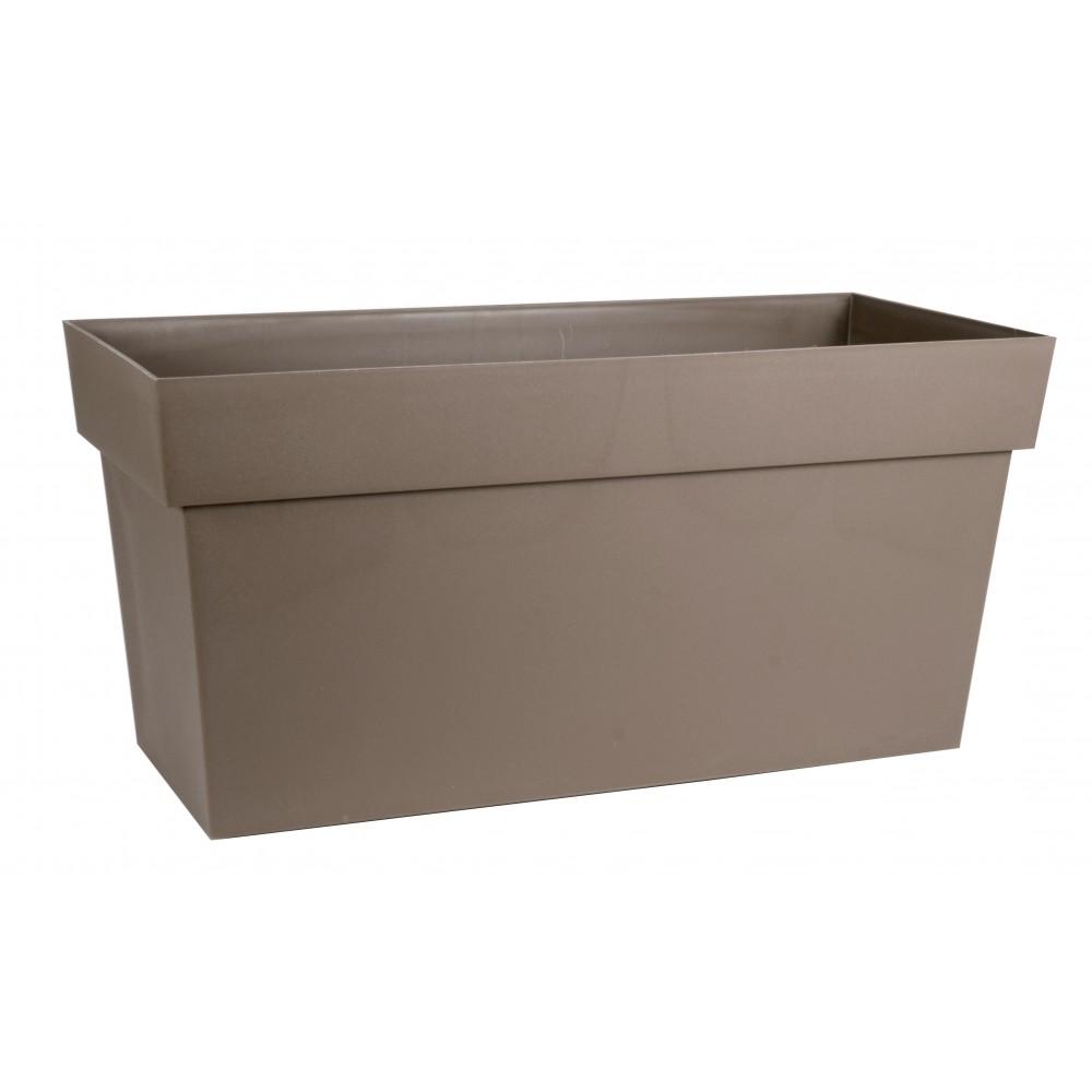 muret r serve d 39 eau taupe 74 litres toscane 13633 eda plastiques bricozor. Black Bedroom Furniture Sets. Home Design Ideas