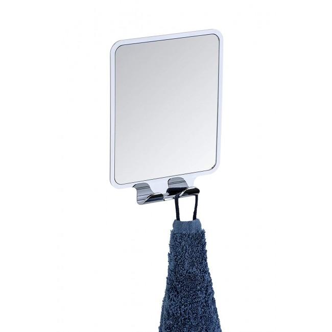 Miroir mural pour salle de bain - Quadro - Antibuée - Vacuum-Loc WENKO