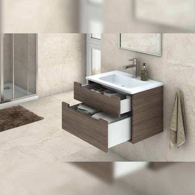 kit tiroir concept hauteur 185 mm blanc emuca bricozor. Black Bedroom Furniture Sets. Home Design Ideas