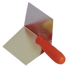 Truelle d'angle intérieur inox - angle 103° - 200 x 120 mm MONDELIN
