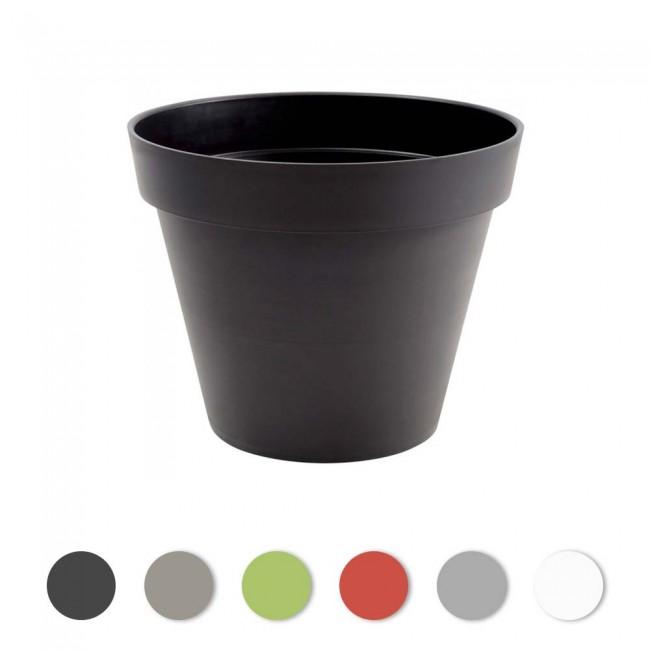 Pot rond - 100 cm - 356 litres - Toscane 13634 EDA PLASTIQUES