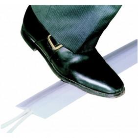 Passage de câble souple en PVC gris, pour plancher intérieur